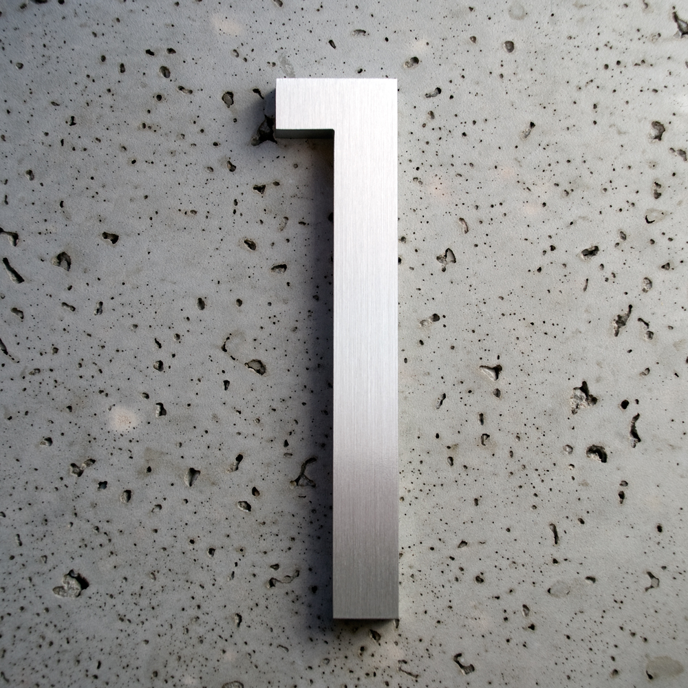 luxello modern neutra house numbers led backlit modern house