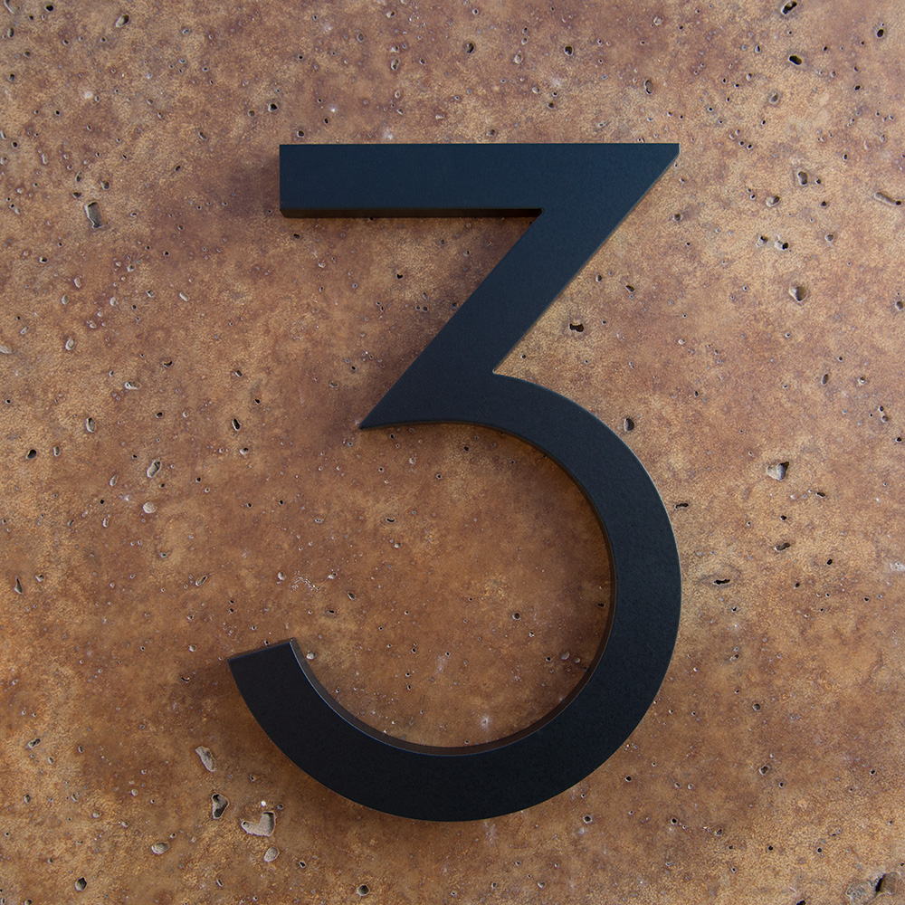 Modern House Numbers Modern House - Contemporary house numbers