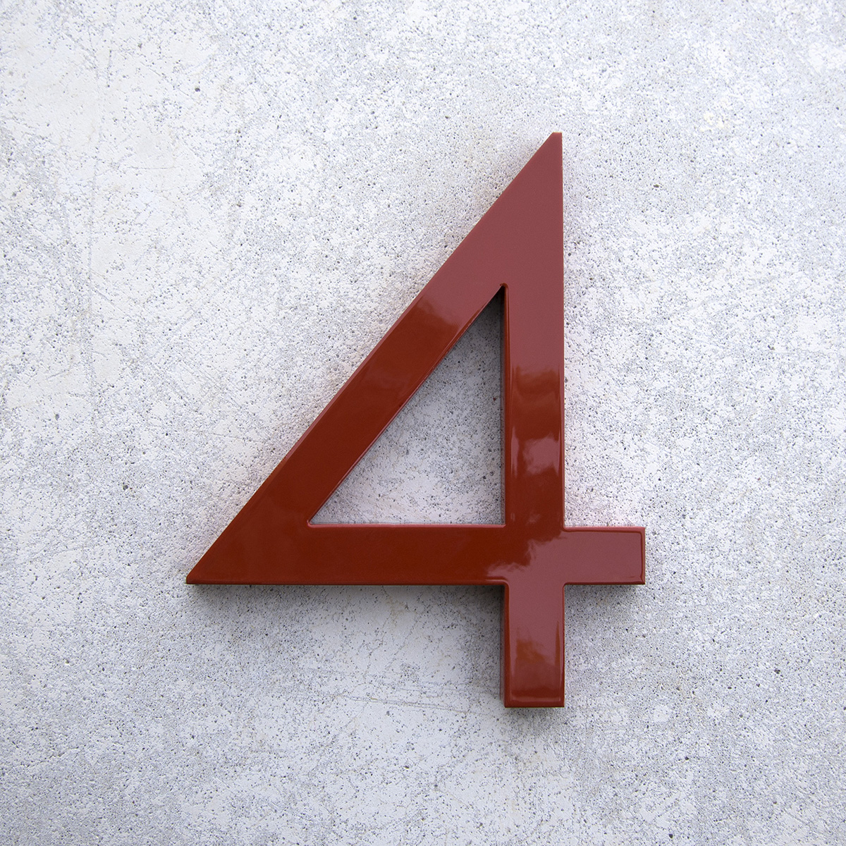 Modern House Numbers and Letters - ^