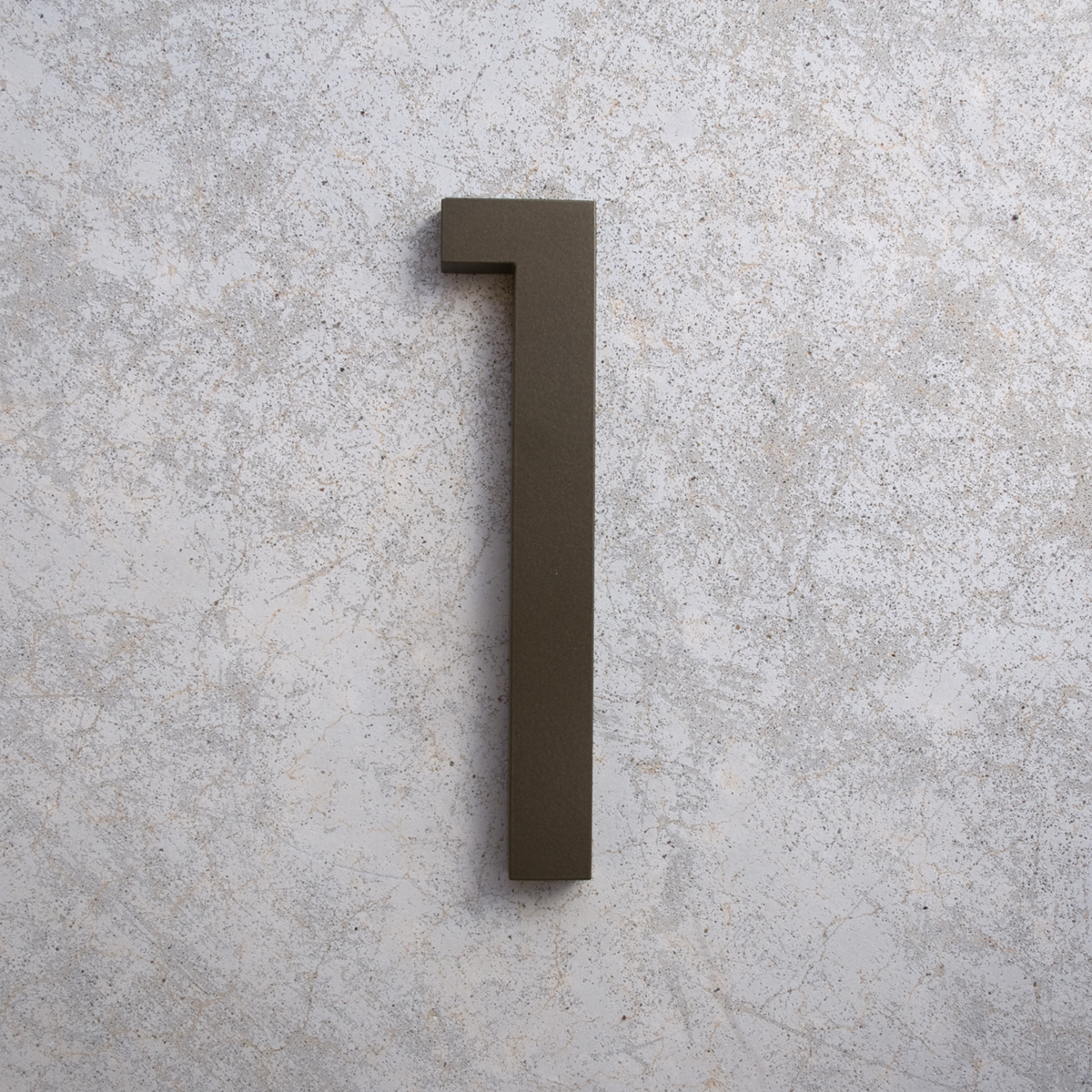 Modern house numbers for Contemporary house numbers and letters