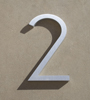 mid century house numbers 2