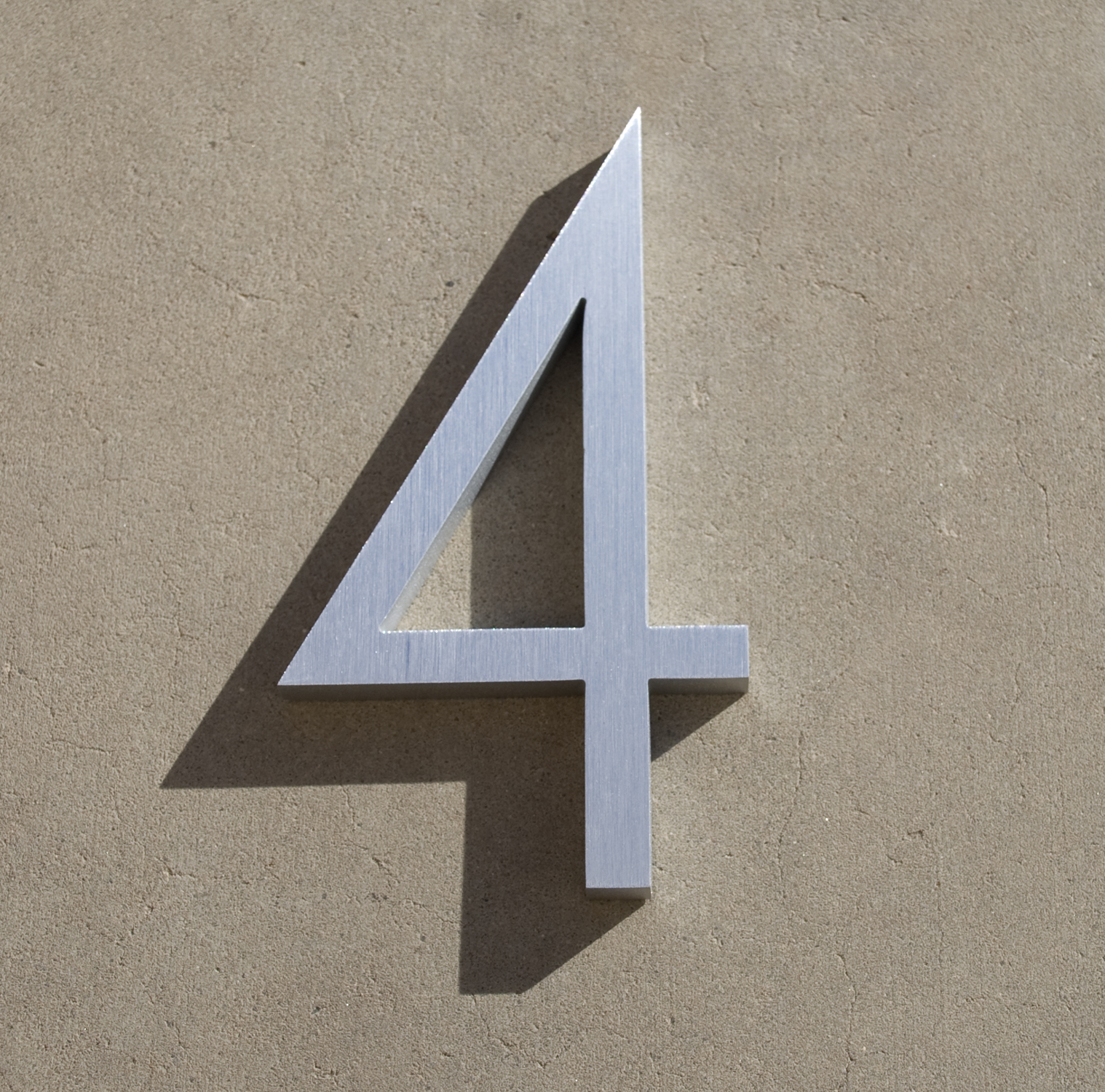 Modern House Numbers And Letters - Contemporary house numbers