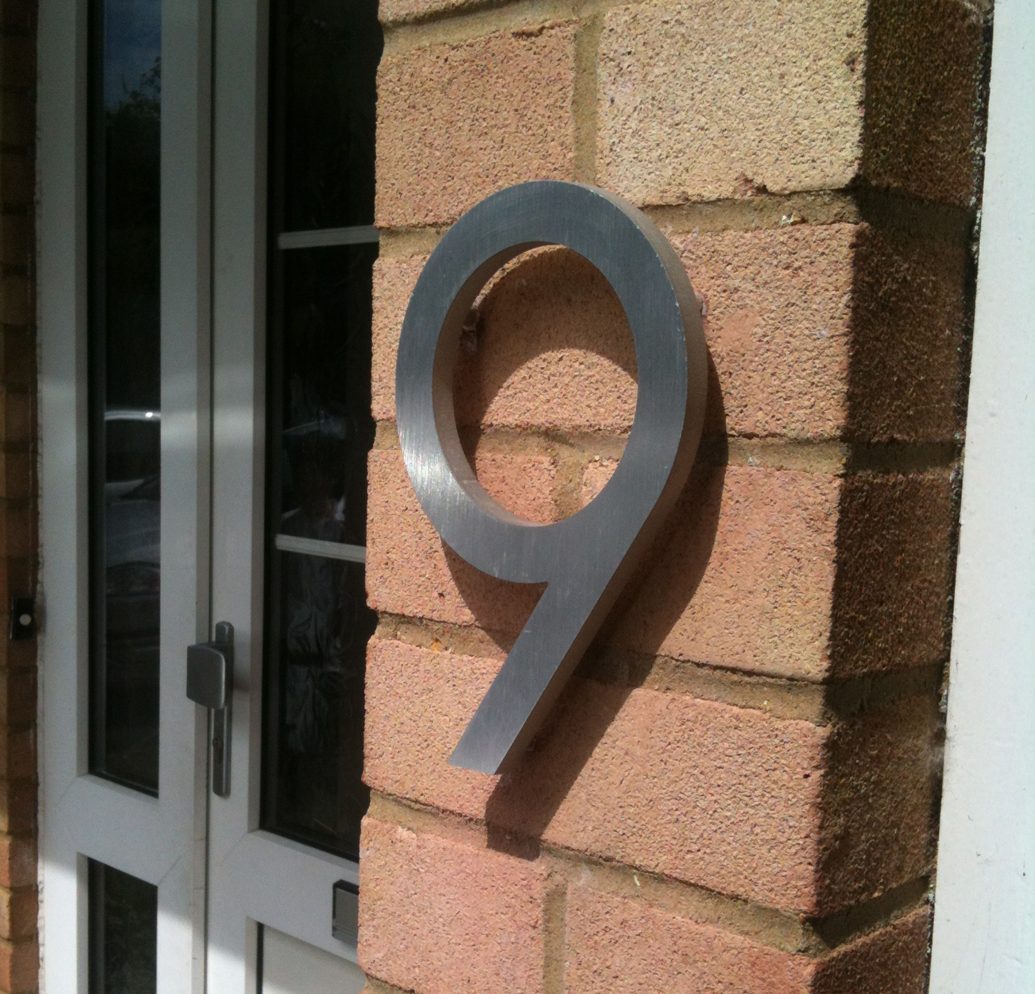 modern house numbers dwell