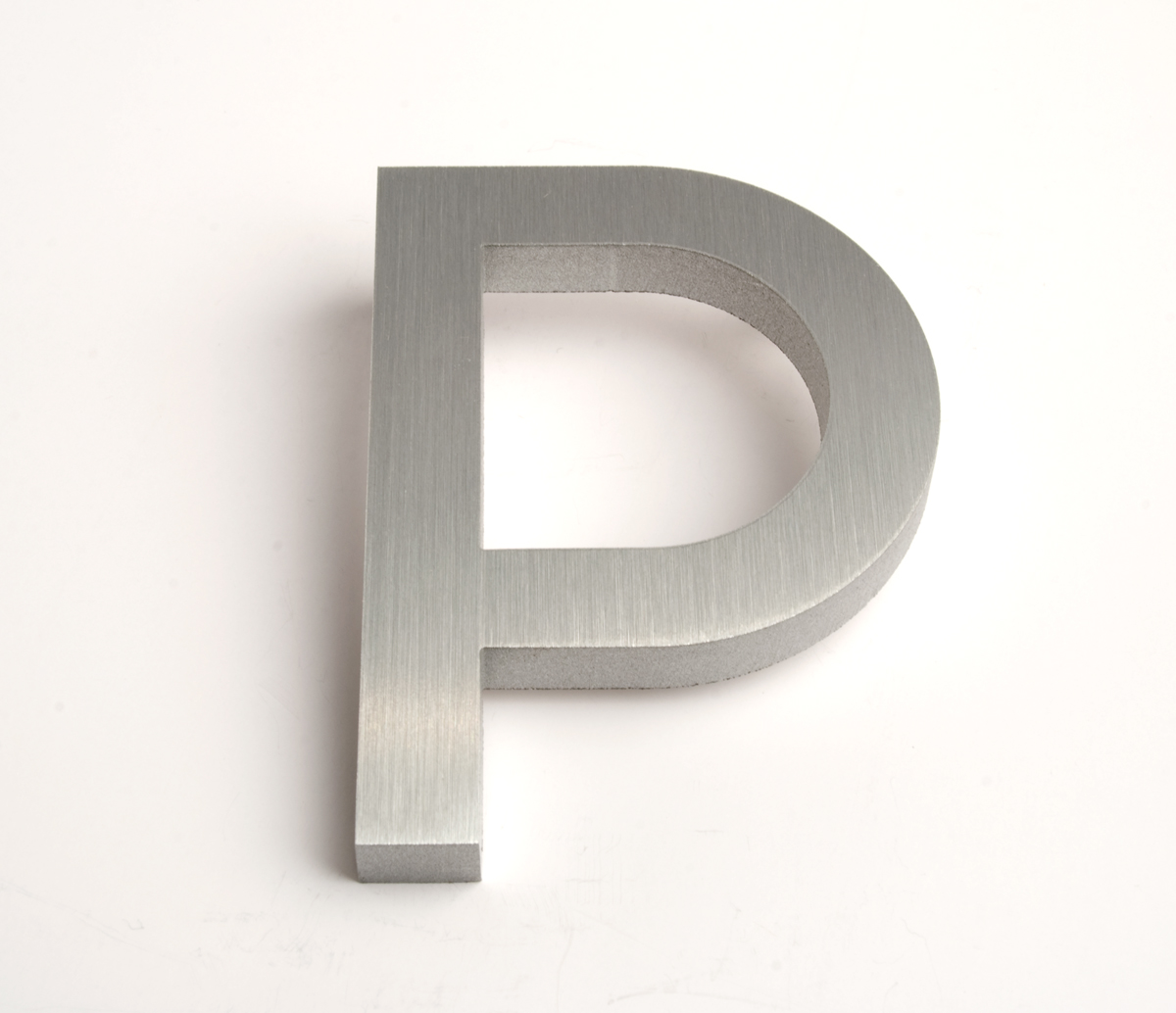 P House modern house numbers and letters